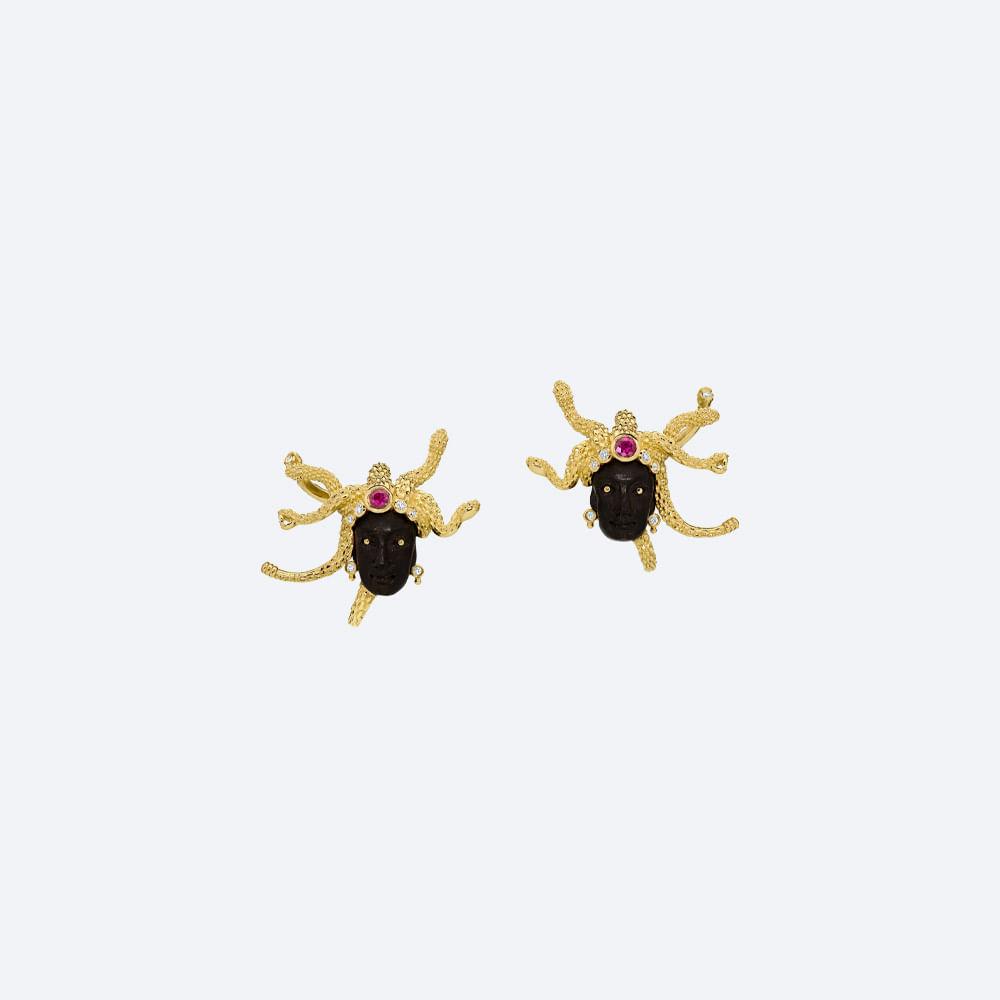 Brincos-Medusa