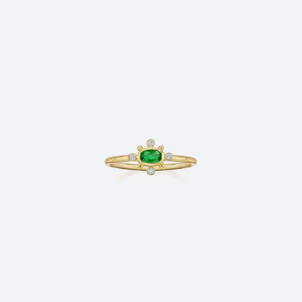 Anel-Dots-Esmeralda