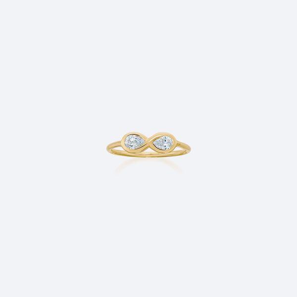 Anel-Infinito-Diamante-Ouro-Amarelo